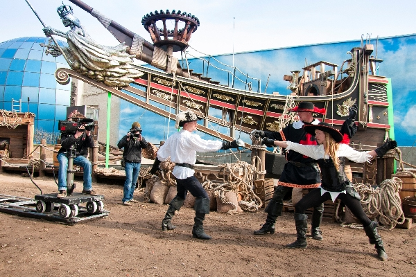 "FILMPARK Babelsberg - Making-Of Show ""DIE DREI MUSKETIERE IN 3D"""
